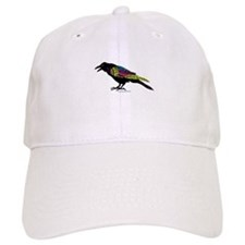 Zentangle Crow Baseball Cap