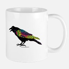 Zentangle Crow Mug