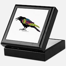 Zentangle Crow Keepsake Box