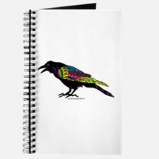 Zentangle Crow Journal