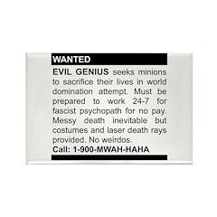 Evil Genius Personal Ad Rectangle Magnet (10 pack)