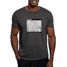 Evil Genius Personal Ad T-Shirt