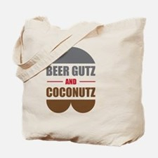 Beer Gutz And Coconutz Tote Bag