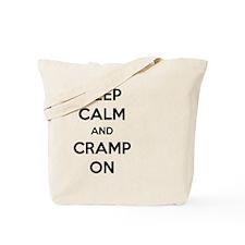 Keep Calm And Cramp On Tote Bag