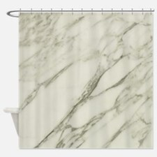 Carrara Marble Design Shower Curtain