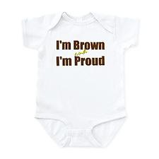 I'm Brown & I'm Proud Infant Bodysuit