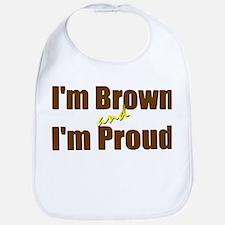 I'm Brown & I'm Proud Bib