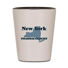 New York Pharmacologist Shot Glass