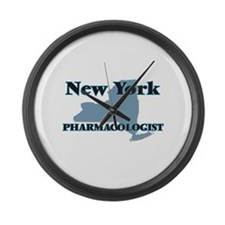 New York Pharmacologist Large Wall Clock