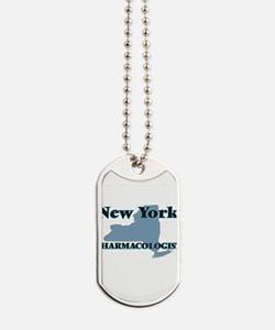 New York Pharmacologist Dog Tags