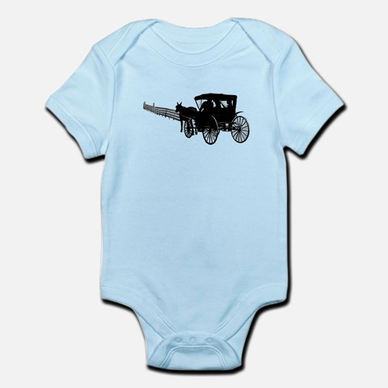 Horse and Buggy Body Suit