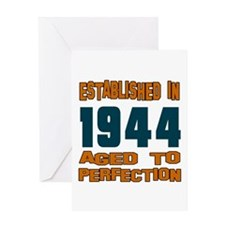 Established In 1944 Greeting Card