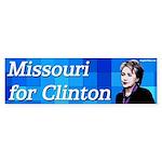 Missouri for Clinton bumper sticker