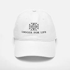 logger for life.psd Baseball Baseball Cap