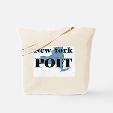 New York Poet Tote Bag