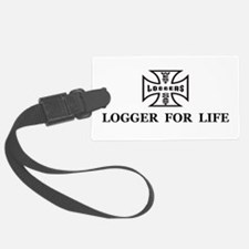 logger for life.psd Luggage Tag