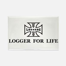 logger for life.psd Magnets