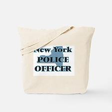 New York Police Officer Tote Bag
