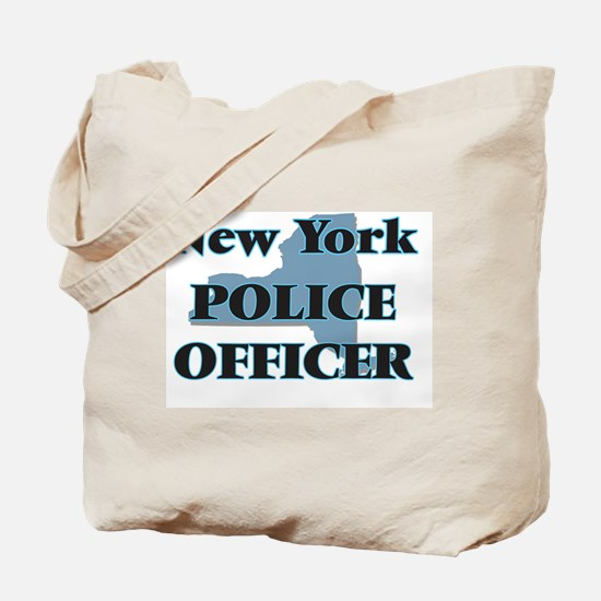 New York Police Officer Tote Bag