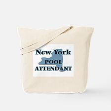 New York Pool Attendant Tote Bag