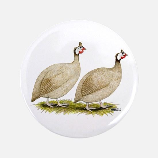 Guineas Buff Dundotte Fowl Button