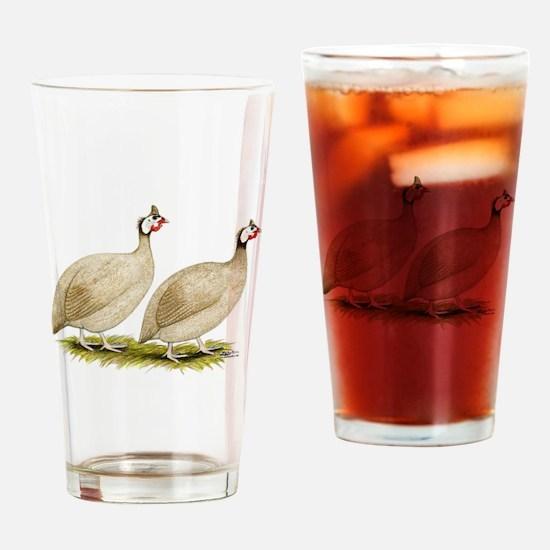 Guineas Buff Dundotte Fowl Drinking Glass
