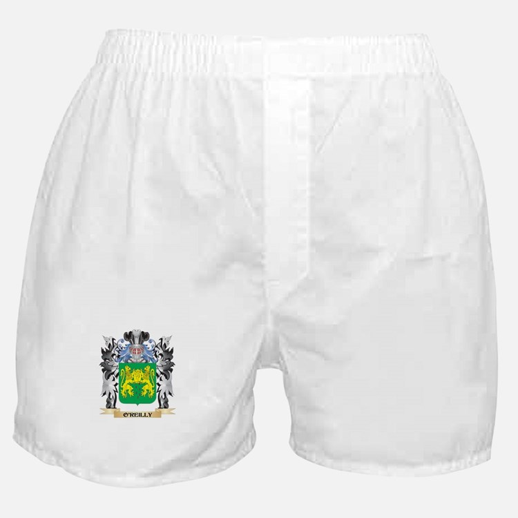 O'Reilly Coat of Arms - Family Crest Boxer Shorts