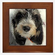 GBGV Puppy Framed Tile