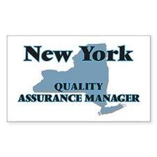 New York Quality Assurance Manager Decal