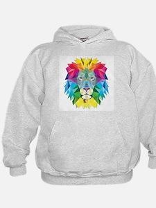 Rainbow Lion Hoodie