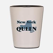 New York Queen Shot Glass