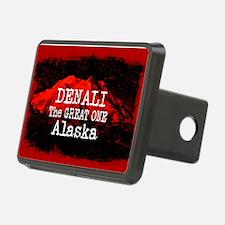 DENALI MOUNTAIN ALASKA RED Hitch Cover