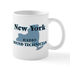 New York Radio Sound Technician Mugs