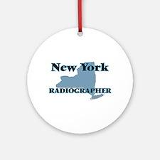 New York Radiographer Round Ornament