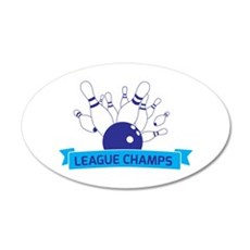 League Champs Wall Decal