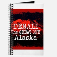 DENALI MOUNTAIN ALASKA RED Journal