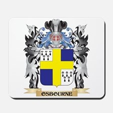 Osbourne Coat of Arms - Family Crest Mousepad