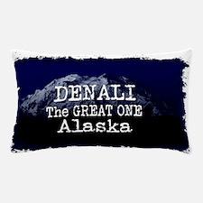 DENALI MOUNTAIN ALASKA BLUE Pillow Case