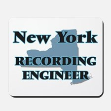 New York Recording Engineer Mousepad