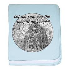 Song Ape baby blanket