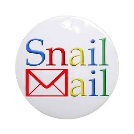 Snail Mail Ornament (Round)