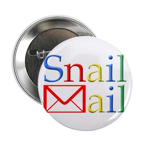 """Snail Mail 2.25"""" Button (100 pack)"""