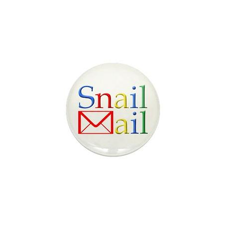 Snail Mail Mini Button (100 pack)