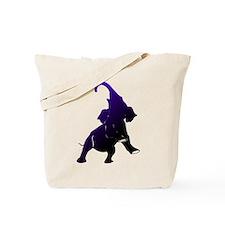 Shadow Elephant Tote Bag