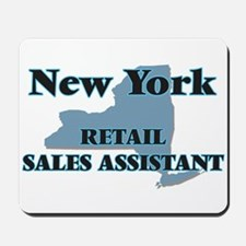New York Retail Sales Assistant Mousepad