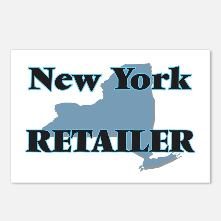 New York Retailer Postcards (Package of 8)
