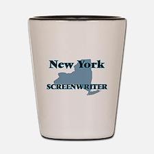 New York Screenwriter Shot Glass