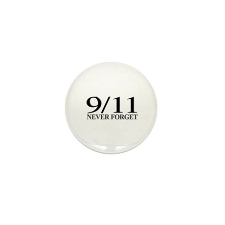 9/11 Never Forget Mini Button (100 pack)