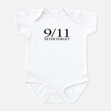 9/11 Never Forget Infant Bodysuit