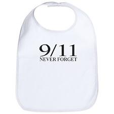 9/11 Never Forget Bib